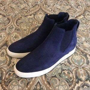 Mint Vince Newlyn Blue Sneaker Sz 8.5 M Worn 1x